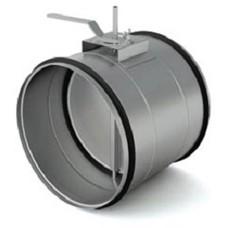 Заслонки регулирующие для круглых каналов ДК (под электропривод)