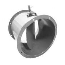 Заслонки регулирующие для круглых каналов ДК - S (ручная)