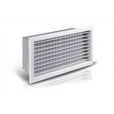 Прямоугольные вентиляционные решетки с регулируемыми жалюзи NOVA-A