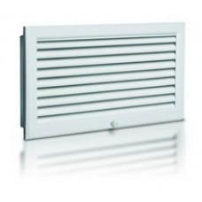 Вентиляционные решетки вытяжные NOVA-F с неподвижными жалюзи и контейнером для фильтра
