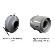 Круглый канальный вентилятор VKA