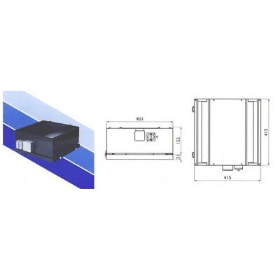 Крышные вентиляторы Ostberg TKK 400 A/B/C/D