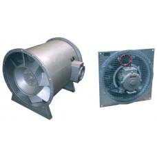 Осевые вентиляторы дымоудаления HABV с направляющим аппаратом