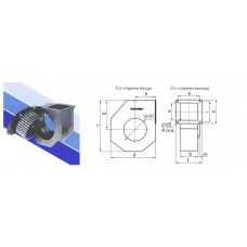 Центробежные вентиляторы Ostberg RFE 200
